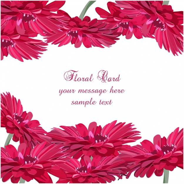 35 Visiting Flower Card Design Template Formating by Flower Card Design Template