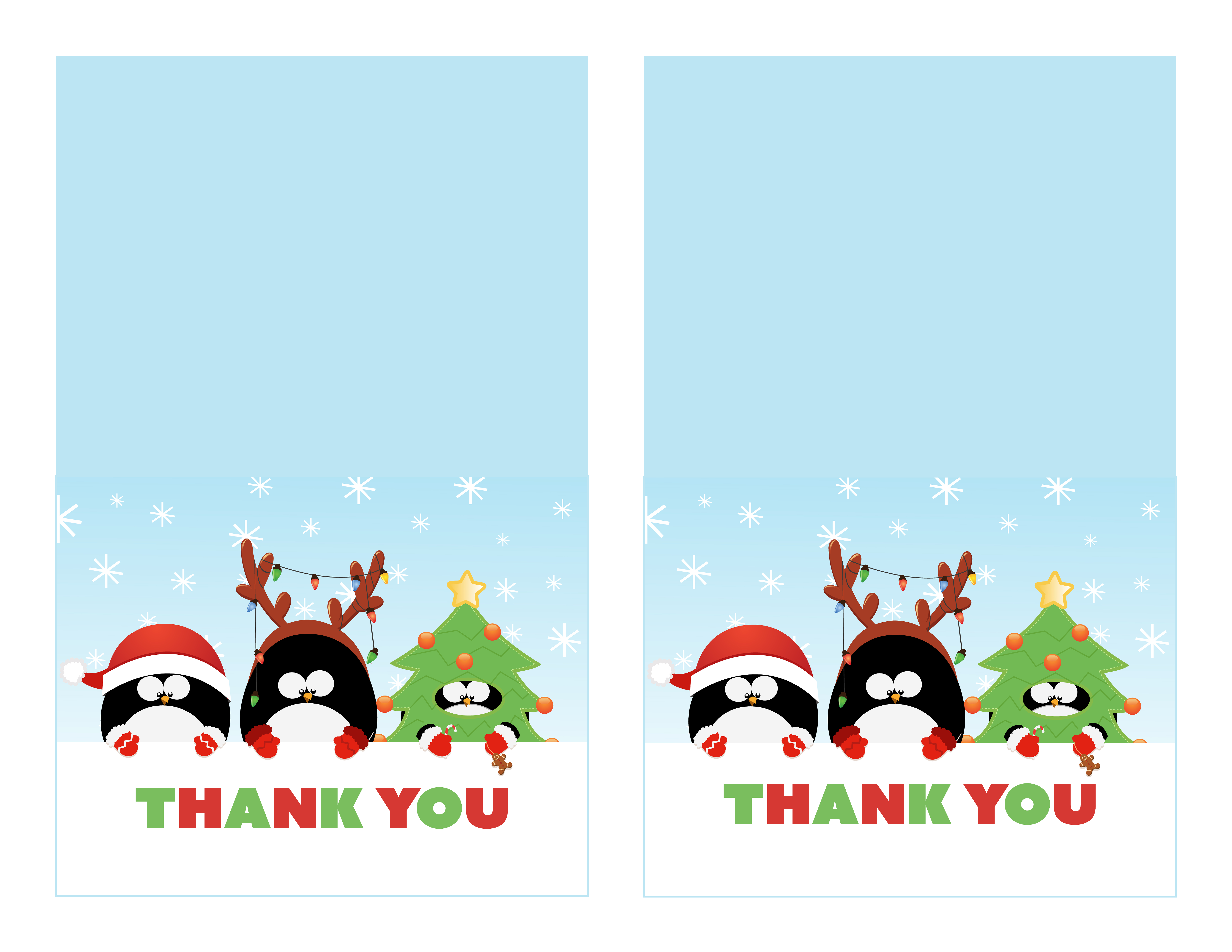 21 Adding Christmas Thank You Card Templates Free Download for Within Christmas Thank You Card Templates Free