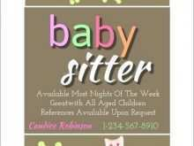 36 Best Babysitting Flyers Template Formating by Babysitting Flyers Template