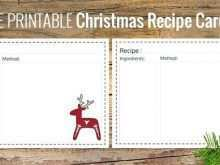 36 Best Christmas Recipe Card Templates With Stunning Design with Christmas Recipe Card Templates