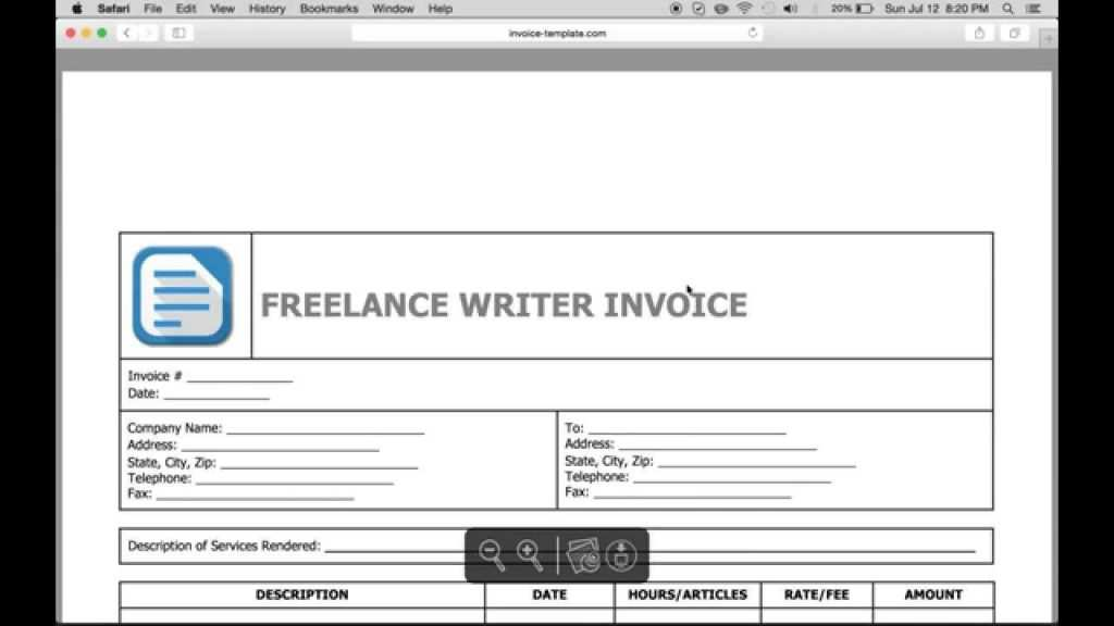 36 Best Freelance Invoice Template Australia Now For Freelance Invoice Template Australia Cards Design Templates