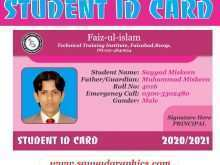 Id Card Template Coreldraw
