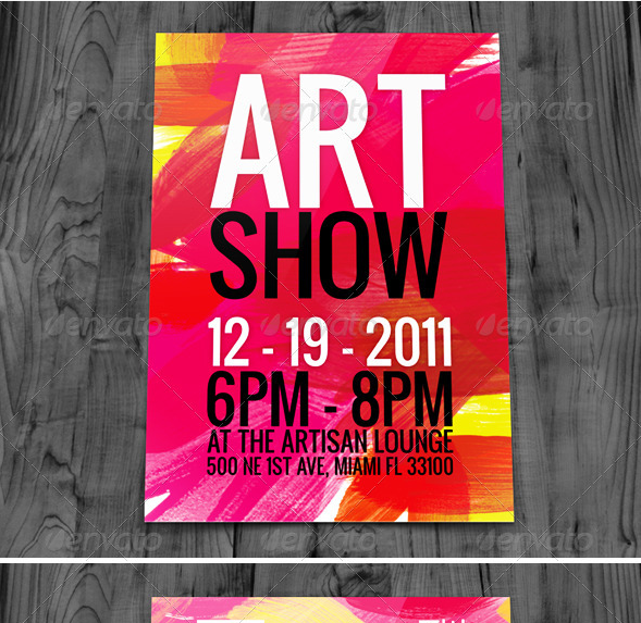 36 Create Art Flyer Template For Free by Art Flyer Template