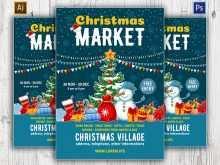36 Create Christmas Fair Flyer Template With Stunning Design by Christmas Fair Flyer Template