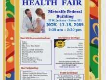 Health Fair Flyer Templates Free