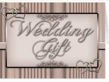 Wedding Card Gift Template