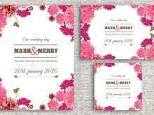 Invitation Card Template With Photo