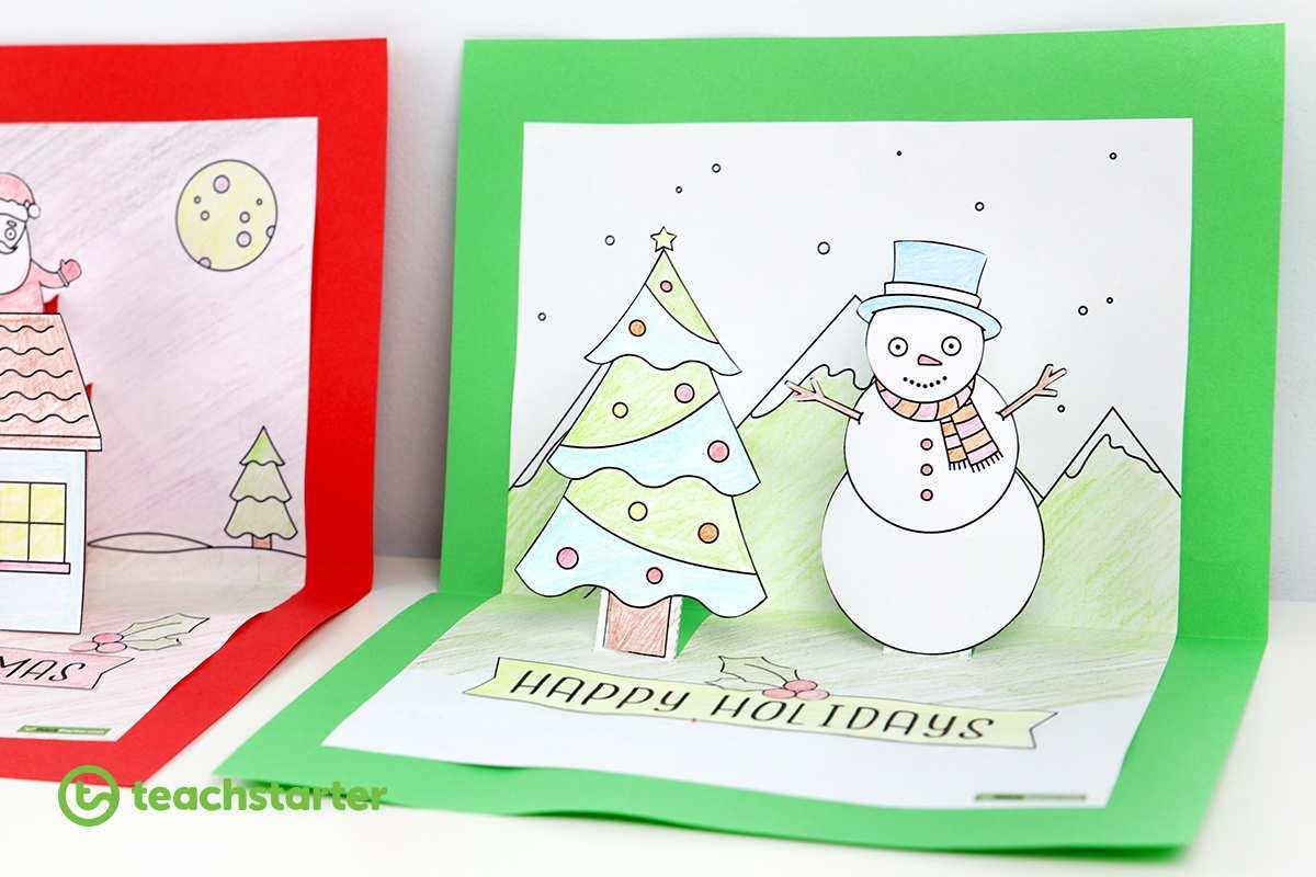 36 Creative Christmas Card Templates Pop Up Formating with Christmas Card Templates Pop Up