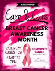 36 Customize Breast Cancer Awareness Flyer Template Free by Breast Cancer Awareness Flyer Template Free