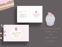 36 Customize Our Free Cupcake Business Card Template Design With Stunning Design by Cupcake Business Card Template Design