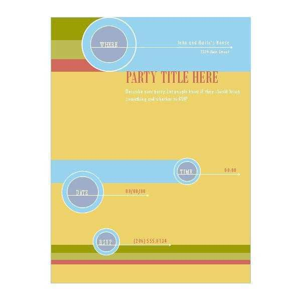 36 Customize Our Free Free Blank Flyer Templates With Stunning Design for Free Blank Flyer Templates