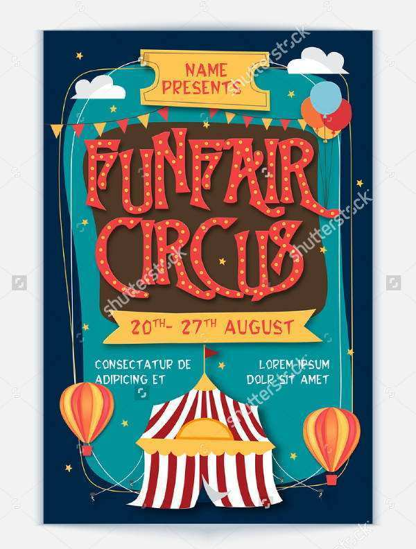 36 Free Printable Circus Flyer Template Free Layouts for Circus Flyer Template Free