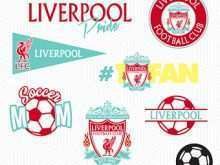 Liverpool Birthday Card Template