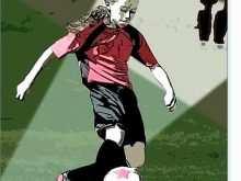 Soccer Birthday Card Template