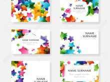 Name Card Template For Students