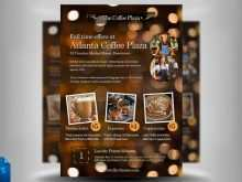36 Standard Cafe Flyer Template in Photoshop by Cafe Flyer Template