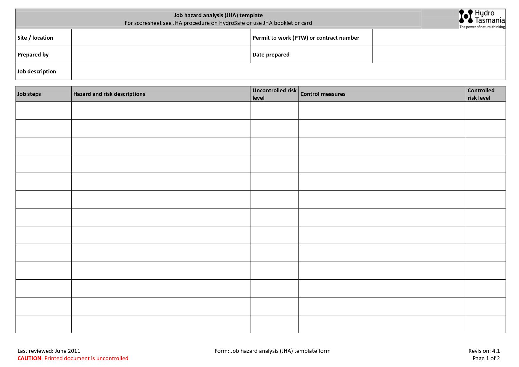36 Standard Job Card Template Pdf Download By Job Card Template