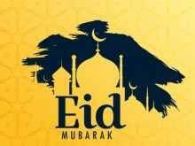 36 The Best Eid Card Templates Vector PSD File for Eid Card Templates Vector