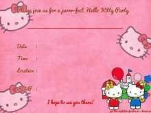 36 Visiting Hello Kitty Invitation Card Template Free in Word for Hello Kitty Invitation Card Template Free