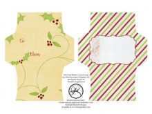 37 Best Gift Card Holder Template Christmas Now by Gift Card Holder Template Christmas