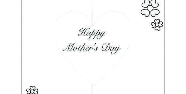 37 Best Pop Up Card Templates Mother S Day in Word for Pop Up Card Templates Mother S Day