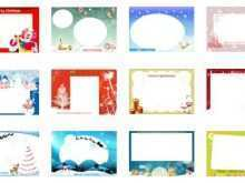37 Blank Christmas Card Layout Online With Stunning Design by Christmas Card Layout Online