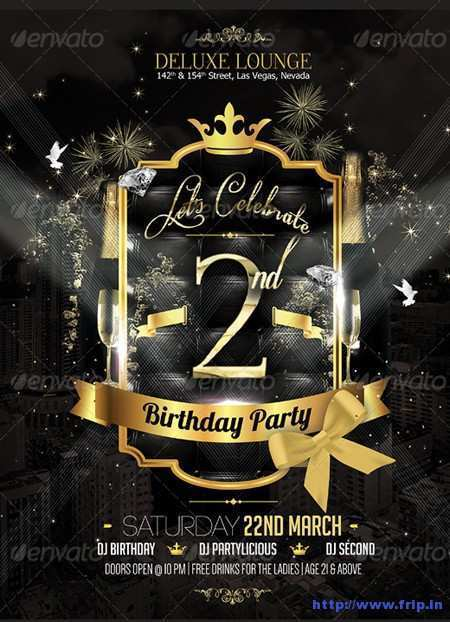 37 Create Birthday Party Flyer Template in Photoshop by Birthday Party Flyer Template