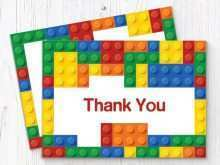 37 Create Lego Thank You Card Template Maker with Lego Thank You Card Template
