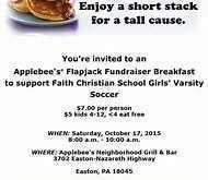 37 Creative Applebee Flapjack Fundraiser Flyer Template for Applebee Flapjack Fundraiser Flyer Template