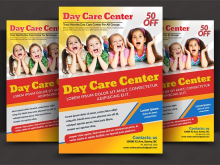 37 Creative Daycare Flyer Templates Download by Daycare Flyer Templates