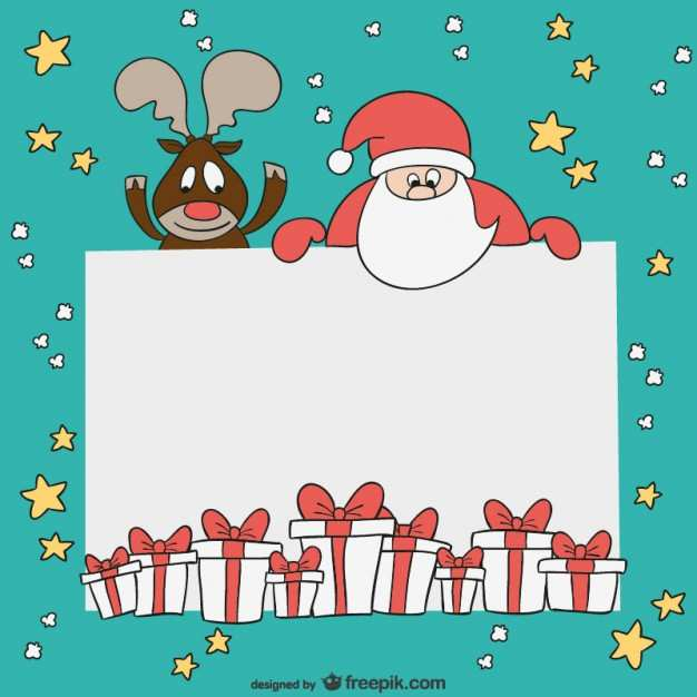37 Customize Our Free Christmas Card Template To And From Photo for Christmas Card Template To And From