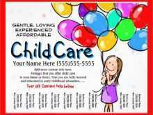 37 Customize Our Free Daycare Flyer Templates for Daycare Flyer Templates