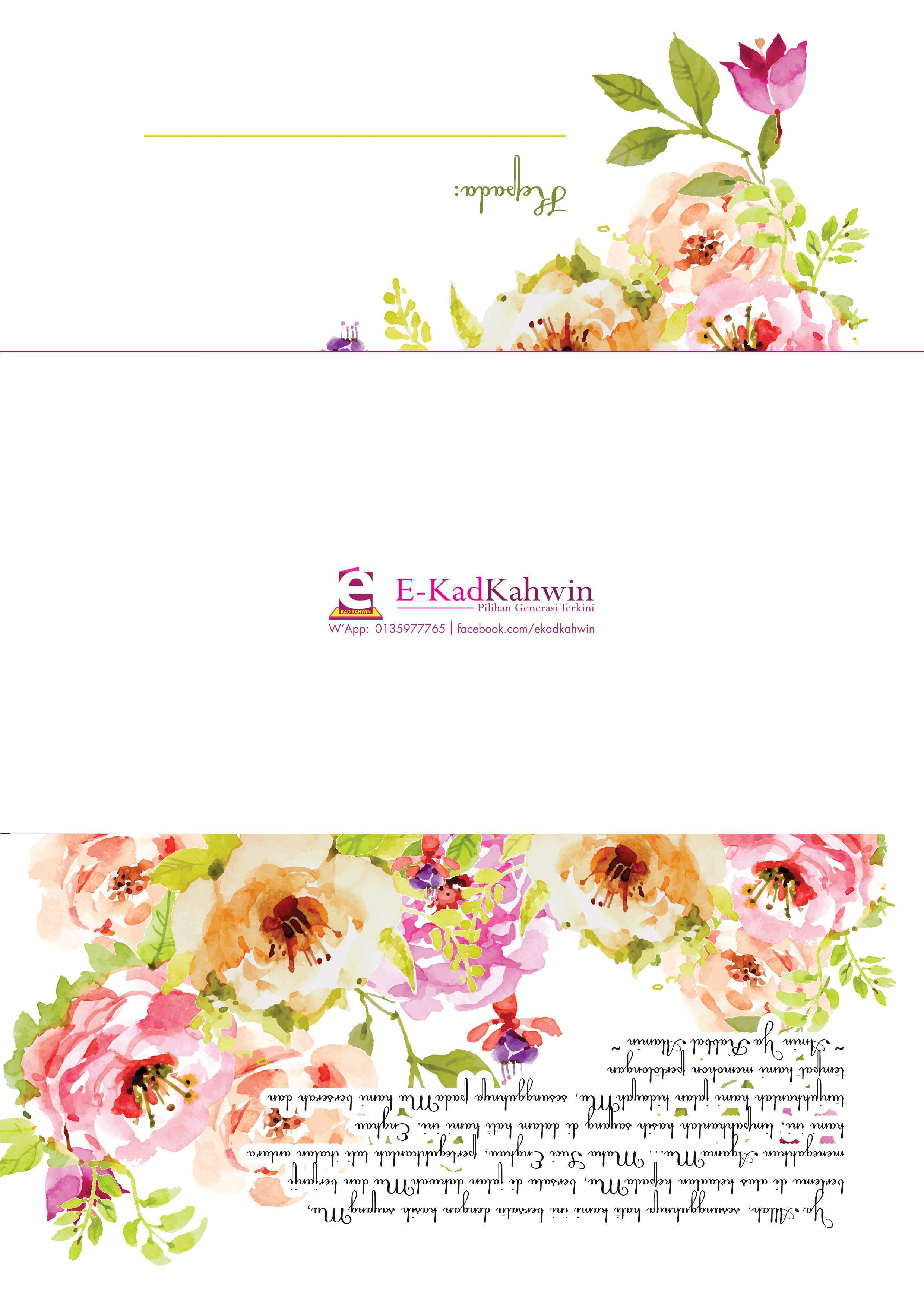 37 Customize Template Kad Kahwin Maker By Template Kad Kahwin Cards Design Templates