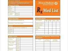 37 Format Drug Card Template Printable PSD File for Drug Card Template Printable
