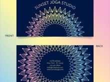 37 Free Free Yoga Business Card Templates Download by Free Yoga Business Card Templates