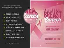 37 Free Printable Breast Cancer Fundraiser Flyer Templates for Ms Word by Breast Cancer Fundraiser Flyer Templates
