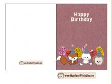 37 Free Quarter Fold Birthday Card Template Free For Free with Quarter Fold Birthday Card Template Free