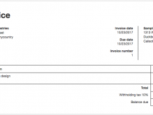 37 Free Tax Invoice Form Thailand in Word by Tax Invoice Form Thailand