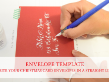 37 How To Create Christmas Card Envelopes Templates Now by Christmas Card Envelopes Templates