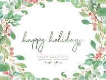 37 How To Create Christmas Card Template A4 Download by Christmas Card Template A4