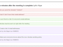 Meeting Agenda Email Example