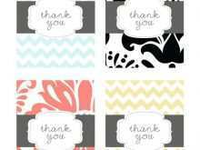 Confirmation Thank You Card Template