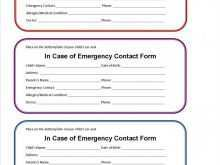 Identification Card Template Printable