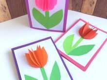 37 Printable 3D Mothers Day Card Template For Free with 3D Mothers Day Card Template