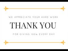 37 Printable Volunteer Thank You Card Template For Free with Volunteer Thank You Card Template