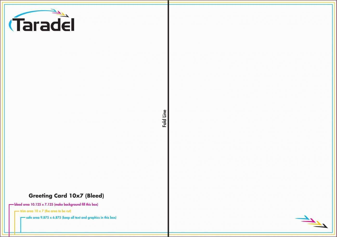 21 Printable Word Card Template Quarter Fold Formating by Word Pertaining To Quarter Fold Greeting Card Template