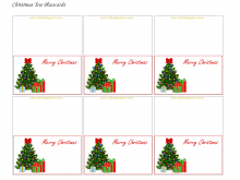37 Report Xmas Name Card Templates for Ms Word by Xmas Name Card Templates