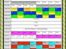 37 Standard Class Schedule Template For Teachers Templates with Class Schedule Template For Teachers