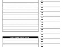 37 Standard Daily Calendar Template For Word Layouts with Daily Calendar Template For Word
