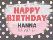 37 Standard Design A Birthday Card Template in Photoshop with Design A Birthday Card Template